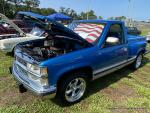 ROCKIN'& ROLLIN' to the RED, WHITE, & BLUE CAR SHOW82