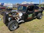 STEEL IN MOTION HOT RODS & GUITARS SHOW DRAG RACE100
