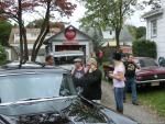 Steve O Pizza Party after Pompton Lakes Car Show 20183