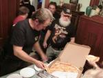 Steve O Pizza Party after Pompton Lakes Car Show 20186