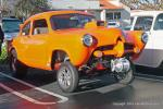 """The wheelie bars do get used on Randy Zeal's sharp '52 Henry J """"Gasser"""" with 383 Chevy power from Menifee, Calif."""