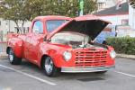 """This '49 Studebaker truck has been massaged enough to make it a """"Hunk"""". Check out all that gorgeous sheet metal!"""