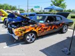 Walmart Car Show on College Drive in Suffolk, VA on June 1, 201325
