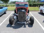 Walmart Car Show on College Drive in Suffolk, VA on June 1, 201338