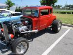 Walmart Car Show on College Drive in Suffolk, VA on June 1, 201340