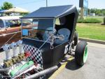 Walmart Car Show on College Drive in Suffolk, VA on June 1, 201369