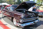 Craig Kamansky brought this eye-catching, Ford 460 Cobra powered '55 Ford Sunliner convertible from Brea, CA.
