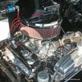 Gary Wymore from Anaheim, CA keeps his '55 Chevy 3100 pickup, and the engine bay was spotless.