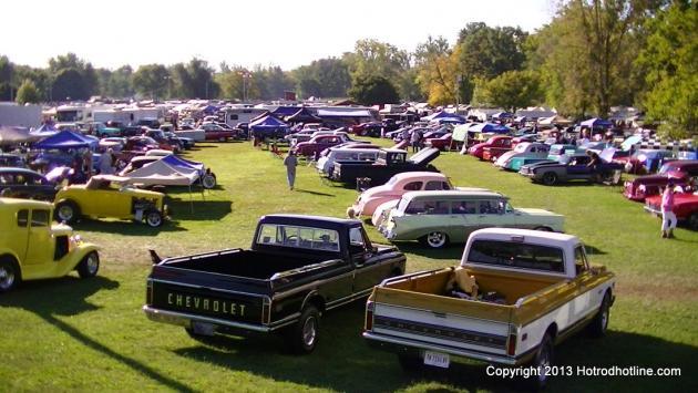 Gas City Indiana Car Show