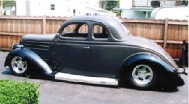 1936 Ford Coupe Hotrod Hotline
