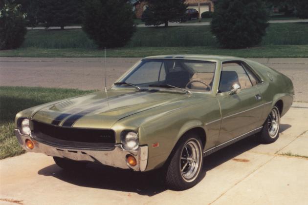 1968 American Motors Company Amx Stolen In Wichita
