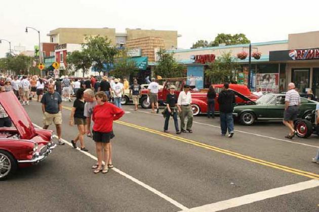 Main Street El Segundo Car Show Hotrod Hotline - El segundo car show