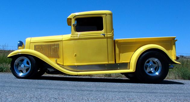 1934 Ford Pickup Hotrod Hotline