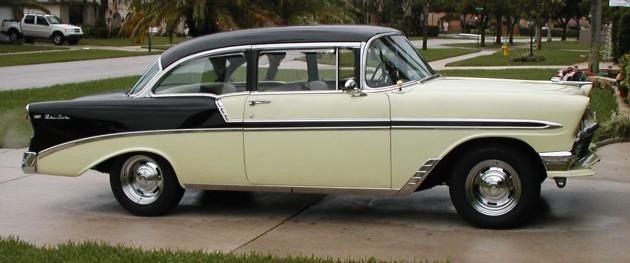 1956 Chevy Bel Air 2 Door Post And 1974 Olds Omega Hotrod Hotline