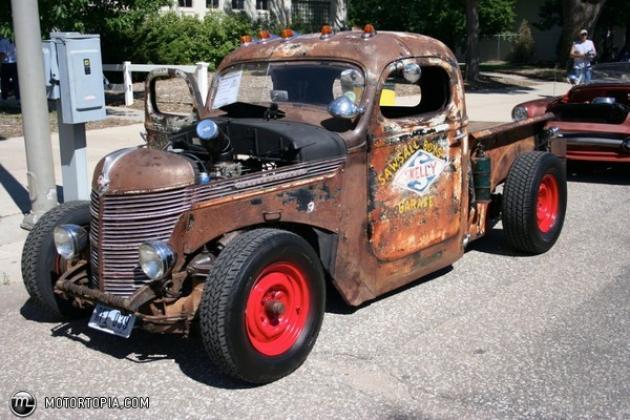 1939 Chevy Rat Rod Pickup | Hotrod Hotline