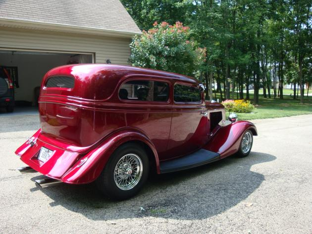 34 Ford Sedan Hotrod Hotline