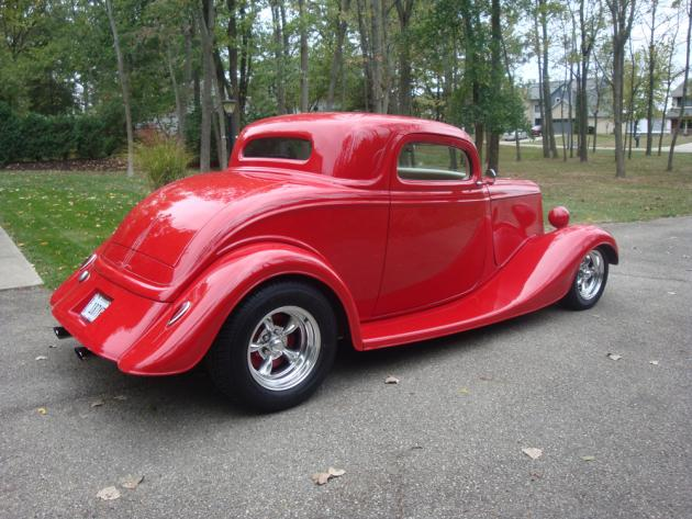 34 ford 3 window coupe hotrod hotline