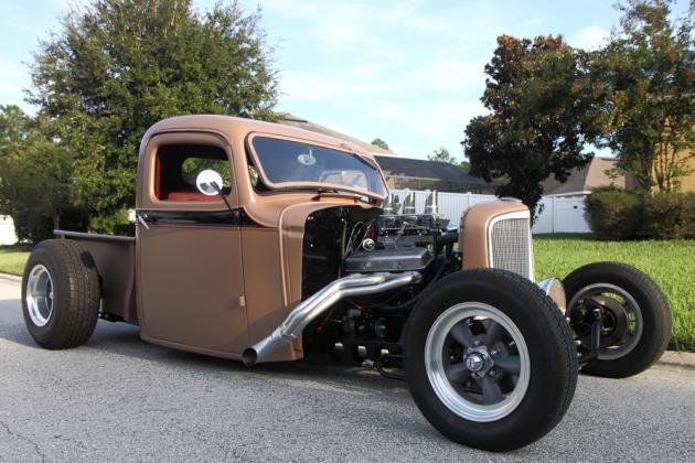 1936 Chevy Truck Hotrod Hotline