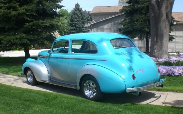 1940 Chevy Specal Deluxe Sedan | Hotrod Hotline