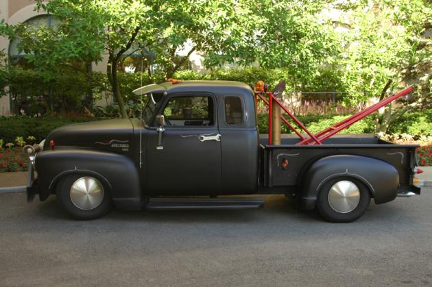 1950 Chevy Rat Rod Tow Truck Hotrod Hotline