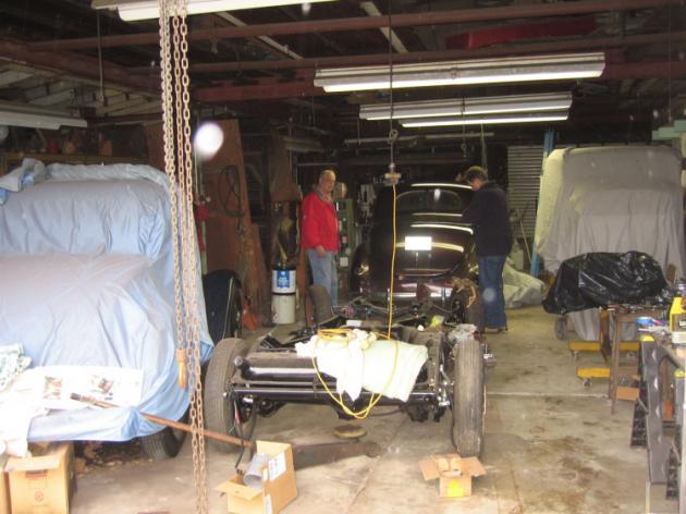 Ed S Old School Garage Hotrod Hotline