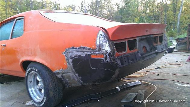Chad Nicholls Custom 1973 Nova Hatchback   Hotrod Hotline