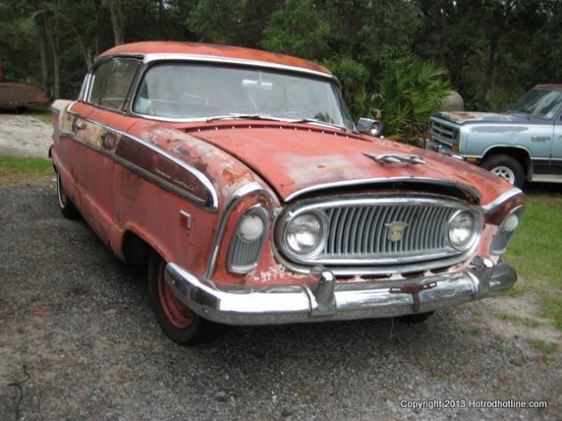 1956 Nash Ambassador Cross Country Special Hotrod Hotline