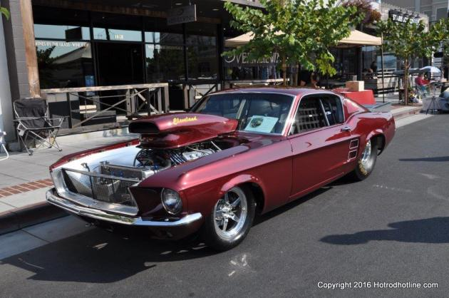 Main Street Reunion Car Show Napa