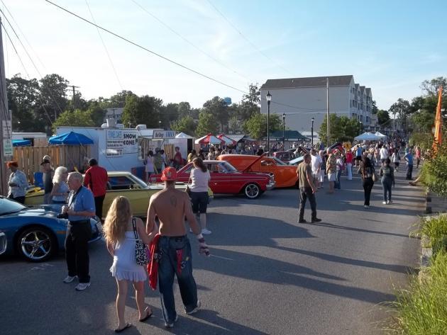 Farmers Market Classic Car Show