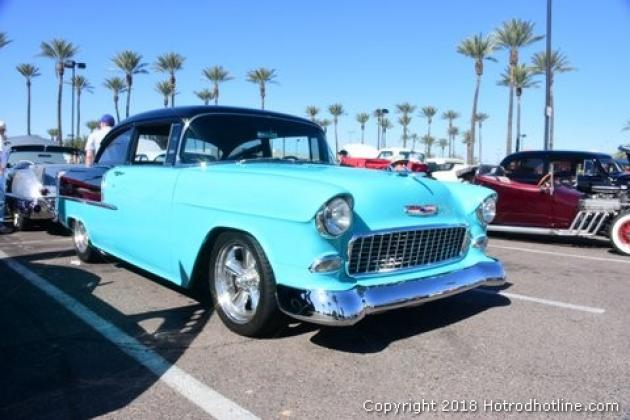 Rock And Roll Car Show Scottsdale