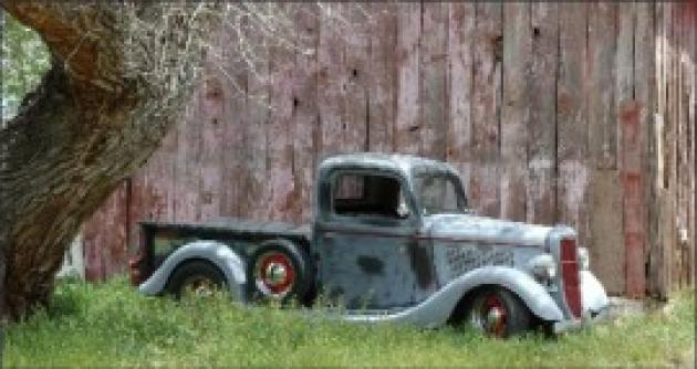 1935 Ford Pickup Truck Hotrod Hotline