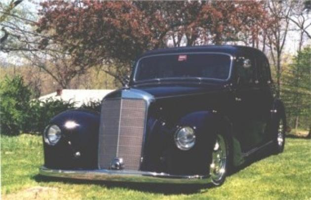 Ford Muscle Cars >> '48 Mercedes Benz ~ Stan | Hotrod Hotline