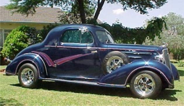 '35 Chevy 3-Window Coupe - Johan Strydom ~ Gauteng, South ...