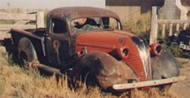 37 Hudson Terraplane Pickup - Owned & Built by: Dan Dowdy ...
