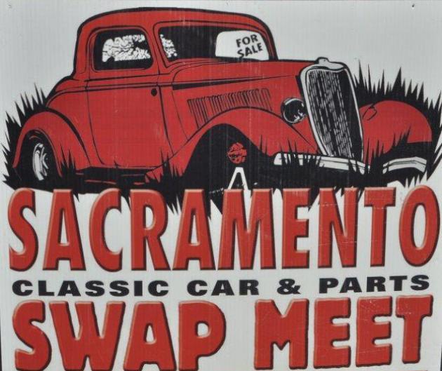 sacramento classic car parts swap meet
