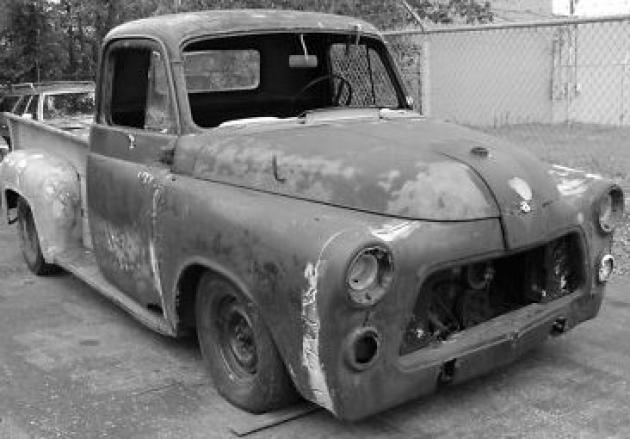 stolen  dodge truck hotrod hotline