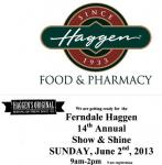 Haggen Foods Show and Shine Car Show0