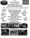 Pennyrile Classic Car's August Cruise-in0