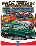 11th Annual Palm Springs Cruisin' Association Dr. George Car Show0