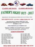 12th Annual Fathers NIght Out Car Show 0