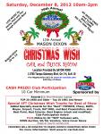 12th Annual Mason Dixon Christmas Wish Car & Truck Show0