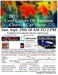 2013 Cool Colors of Autumn Charity Car Show0