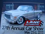23rd Annual LANE Automotive Car Show1