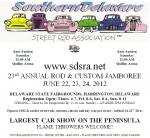 23rd Annual Southern Delaware Street Rod Association June Jamboree0