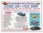 25th Annual Hemmingway Bar-B-Q and Shag Festival Classic Car and Cycle Show0