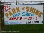 25th Annual Park n' Shine Car Show0