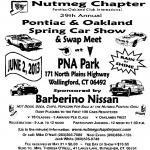 29th Annual All Pontiac and Oakland Spring Car Show0