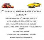2nd Annual Alameda Pirates Football Car Show0