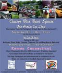 "2nd Annual Cruisin' ""Blue Back Square"" Car Show0"