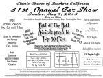 31st Annual Rancho San Antonio Boys Town Car Show0